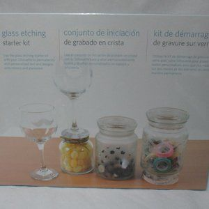 Other - Silhouette Glass Etching Starter Kit Sealed NEW